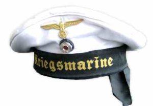Kriegsmarine`donald duck` cap