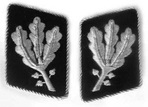 Allgemeine SS officers collar tabs