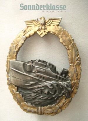 Kriegsmarine 1st pattern E-boat Badge