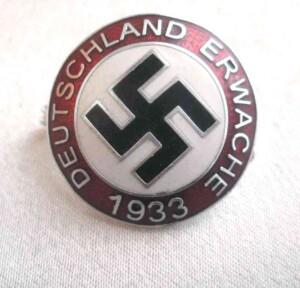 Deustchland Erwache pin badge