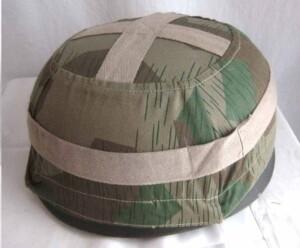 Fallschirmjager splinter camo helmet cover