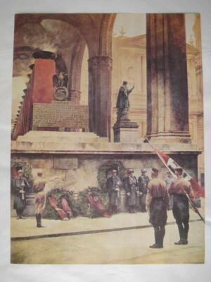NSDAP Feldherrnhalle poster