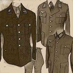 German Officers Uniforms