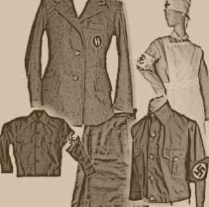 Womens uniforms, Hitler Youth, SA