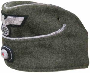 Heer officers side cap with insignia-EREL