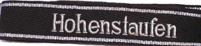 Hohenstaufen officers cuff title
