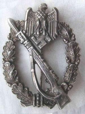 Infantry Assault Badge silver `Sonnderklasse`