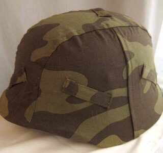 WW2 Italian Camo Helmet cover