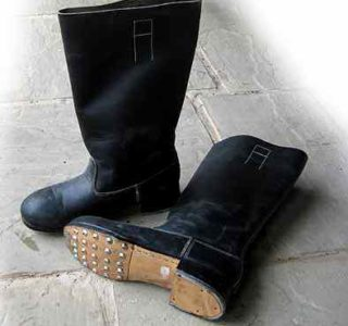 German Jack boots- WW2 army Leather boots for wehrmacht