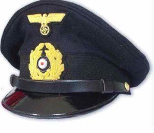 Kriegsmarine NCO`s visor Cap.