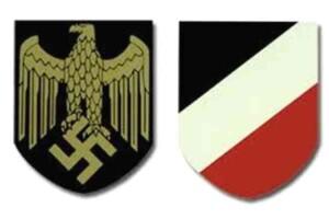 WW2 German Kriegsmarine Helmet Decals