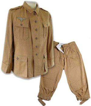 Luftwaffe Tropical Uniform Set.