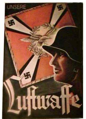 WW2 Luftwaffe poster