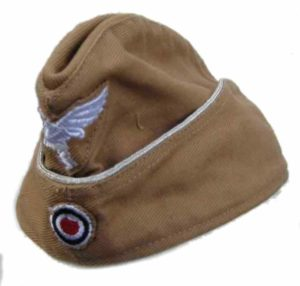 Luftwaffe officers tropical side cap