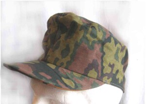 Waffen SS Oakleaf cap