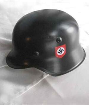Miniature SS helmet