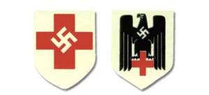 German DRK Helmet Decals