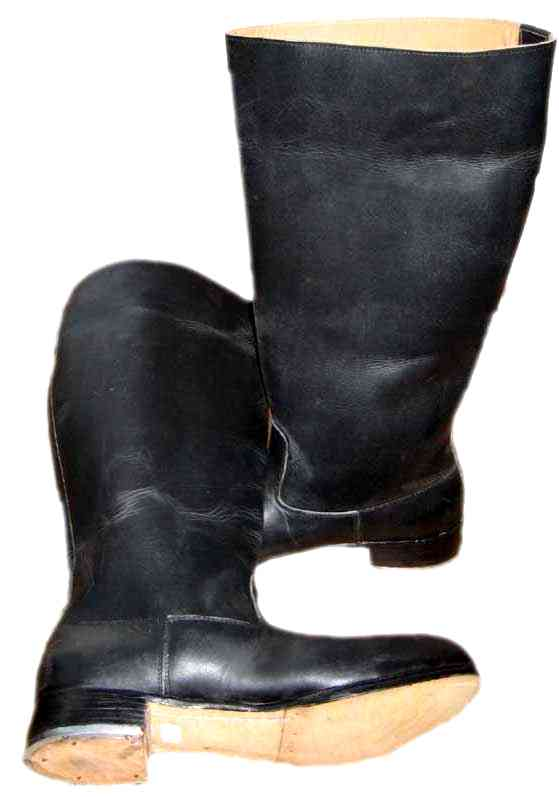 German Officers Jack Boots