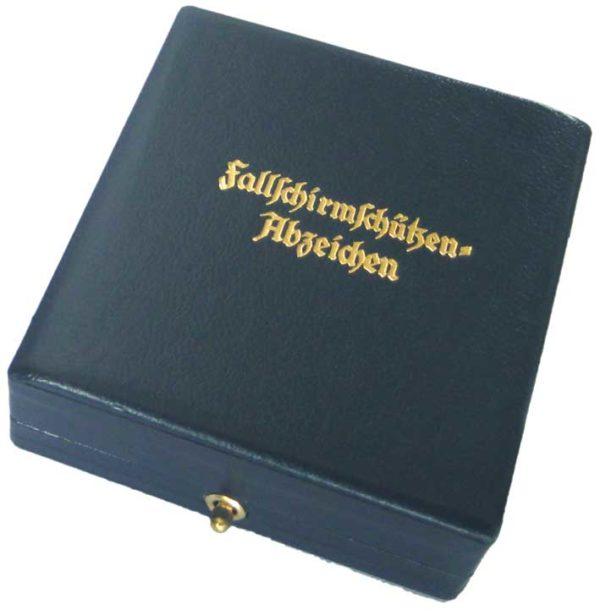 German Paratrooper badge box.