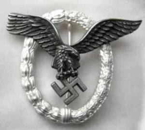 luftwaffe pilots-badge