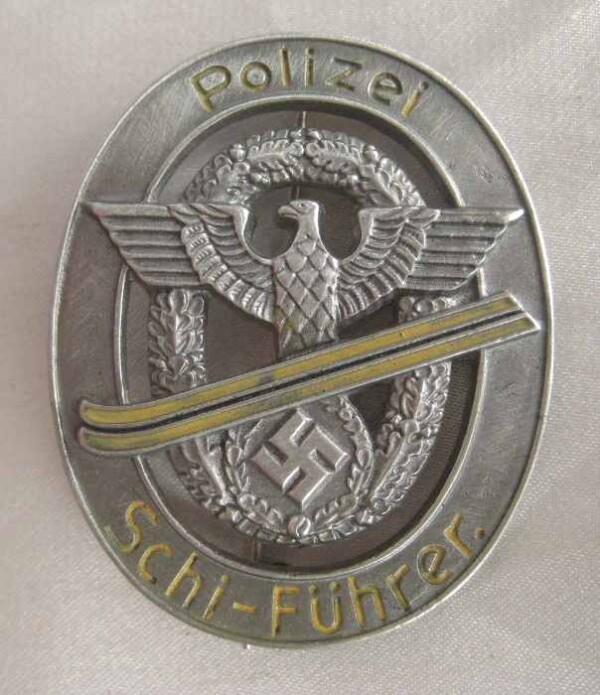 Polizei Schi Fuhrers badge