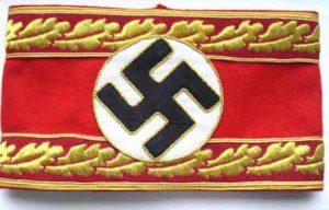 Nazi Political leaders armband