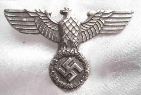Nazi SA metal cap eagle ` Sonnderklasse`