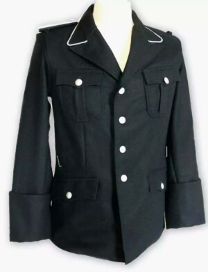 SS officers black tunic