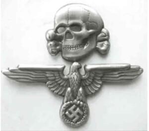 ss skull and eagle cap set