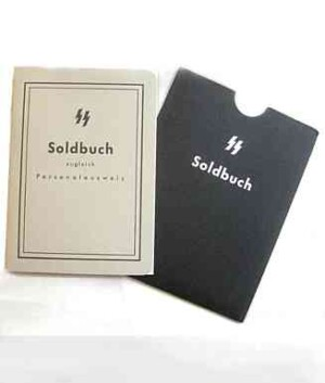 SS Soldbuch and cover set
