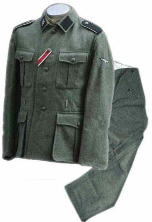 Waffen SS M40 uniform set with insignia
