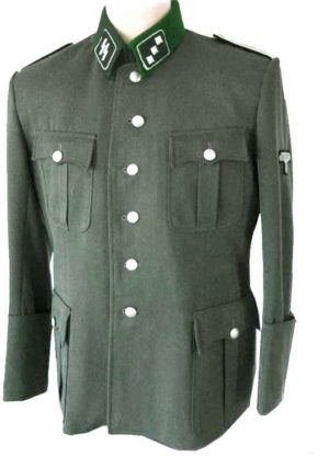 SS Officers Tunic with Waffen SS insignia