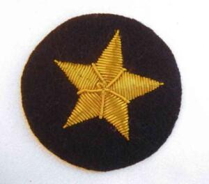 WW2 Kriegsmarine Line Officers Star.