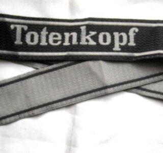 SS totenkopf-bevo-cuff-title