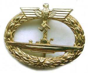 German U-Boat badge