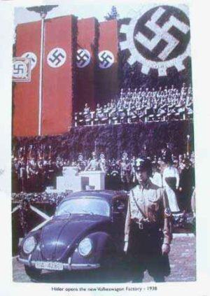 KDF Volkswagen poster