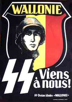 Waffen SS Wallonie poster